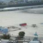 Une partie de la plage de Boulogne et la Statue du Général SAN MARTIN