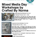 Mixed Media Workshops at the Williamson