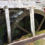 Water wheel in action