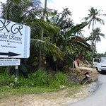 Signboard @ junction of Marang Parang/Pantai Kelambu Rd