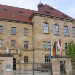 Nuremburg Trial Courthouse Foto