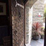 Beautiful entrance door to the Castle
