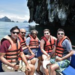 Enroute to James Bond Island