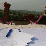 Scrivere e leggere in terrazza