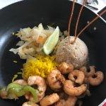 Shrimp-Pfanne