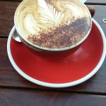 A beautiful cappuccino to start the morning