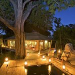 Zarafa Camp - Private plunge pool with each guest tent