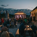 Live concerts and fests in the brewery's backyard