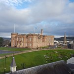 Daytime room view of Inverness Castle