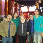 Great Friends enjoying Burgers, brewed beer and fun spirits at Great Baraboo Brewing Co.