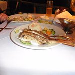 Whole Red Snapper at Toscana