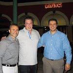 ROSARIO CASSATA, OWNER ADAMO AND G.M. IVAN AT DAVINCI'S MARCO ISLAND, FL.