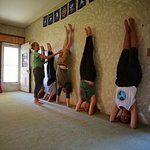 Yoga for all levels in our cozy yoga studio!