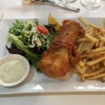 Fish & chips - good but not great