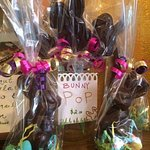 Easter is one event of many throughout the year that inspire great chocolatiering from staff