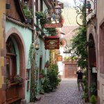 beautiful streets of Riquewihr
