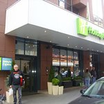 Holiday Inn Express in Frankfurt.