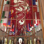 The Hall of Countries inside the Kennedy Center