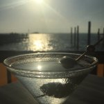 martini pre sunset