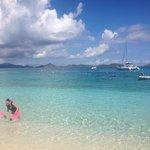St. John beach. A tiny island neighboring St. Thomas and absolutely beautiful waters!