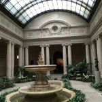 Garden Room at the Frick Museum