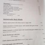 The menu (part 2)