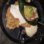 Country Fried Steak with Chile Relleno YUMMO!!!!
