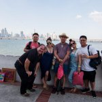 Touring Panama City with Alain
