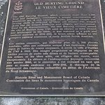 Old Burying Ground historical information plaque