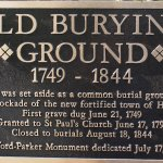 Old Burying Ground marker