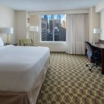 Stay in our Concierge king guest room and enjoy views of city center Philadelphia.