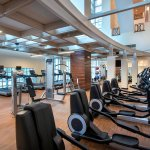 With plenty of cardiovascular equipment and free weights, you can start your day with a workout