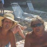 New friends at Coki Beach