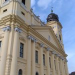 Main Church in Debrecen's old sqaure.