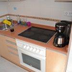Köket i lägenhet nr 2