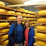 Say cheese at the cheese farm!