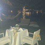 Wonderful Anniversary Dinner in our gardens arranged by Balraj