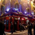 El famoso pub The Temple Bar, del Temple Bar.