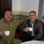 Hassan (local guide in Fez) and Moha (driver/guide)