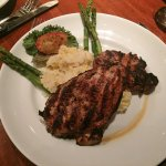 Seasonal Herb Basted Chicken with Risotto - Stonewood Grill University Park, Sarasota FL
