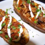 BBQ monster pulled pork baked potato