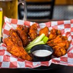"Come and try our ""Wings of Fire"" or our ""Wings of Smoke""!"