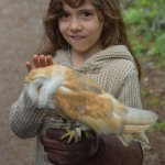My daughter loved the experience. She was cuddling with the barn owl.