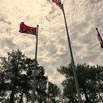 Full history of flags flying.