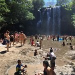 Waterfall Swim - too busy...Easter Holidays for locals
