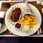 Currywurst room service