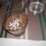 mousse au chocolat faite maison, un délice