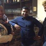 Me (Nzingha), my business partner & friend (Alysia) & Johnnie (Grand Rasoi owner)