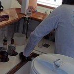 Open bar on El Tigre catamaran