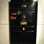 Churchill's door from his time at 10 Downing